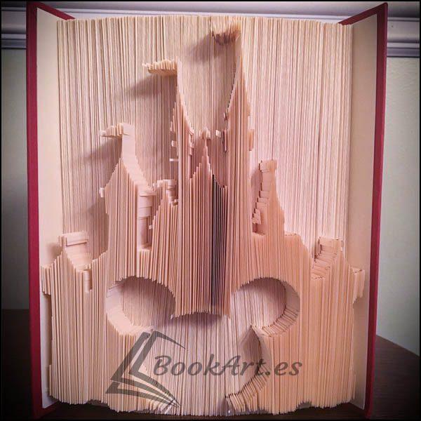 Bookart_Castle_Mickey