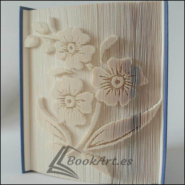 Bookart_Flower